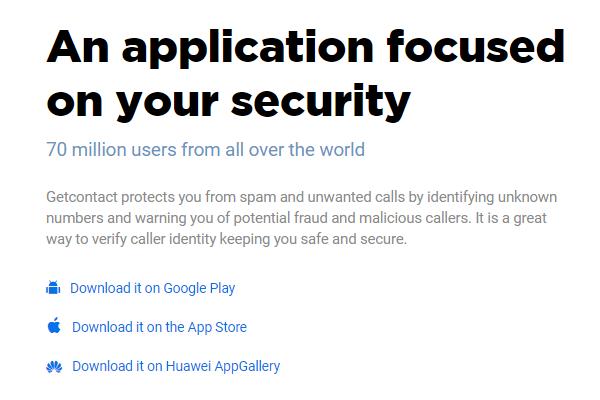 谷歌应用商店拦截垃圾电话高分应用Getcontact