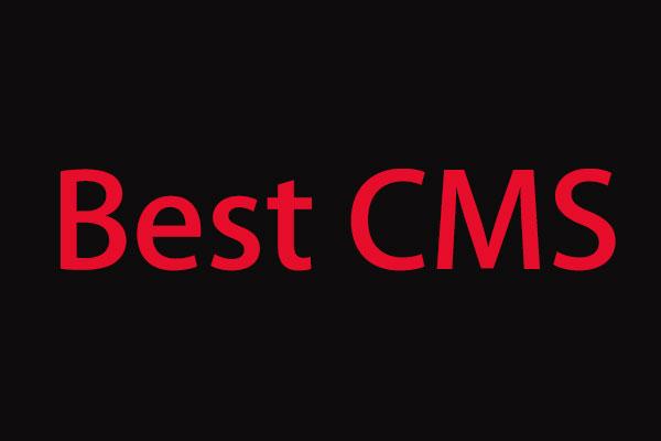 如何挑选一个适合自己的CMS?