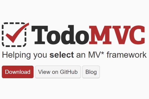 TodoMVC:超级棒的To do list Javascript开发框架