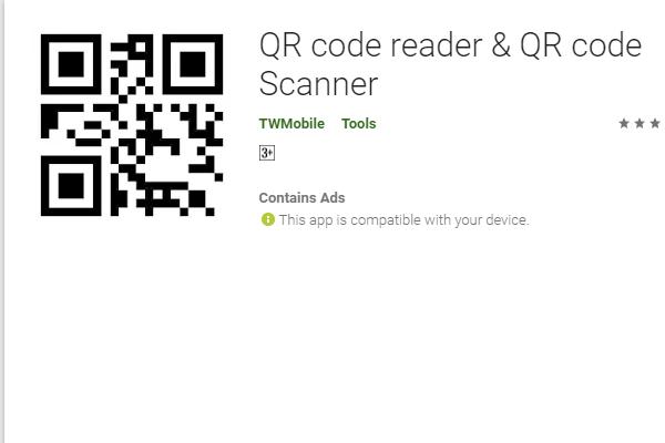 QR code reader & QR code Scanner:谷歌上超火的二维码扫描工具